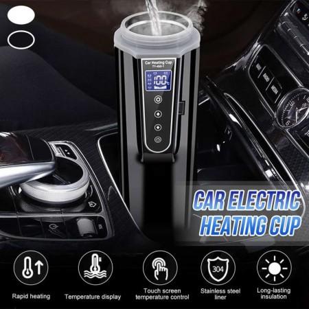 Chauffe-eau Portable en acier inoxydable pour voiture, 450 ml, 12/24V, R9CC