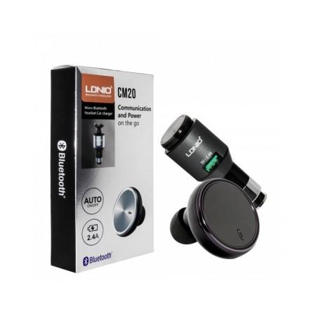 Chargeur Voiture Avec Mono Bluetooth - LDNIO