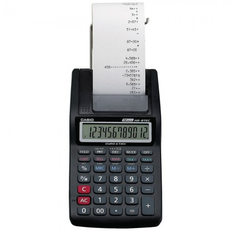 Calculatrice imprimante portative CASIO (HR-8TM)