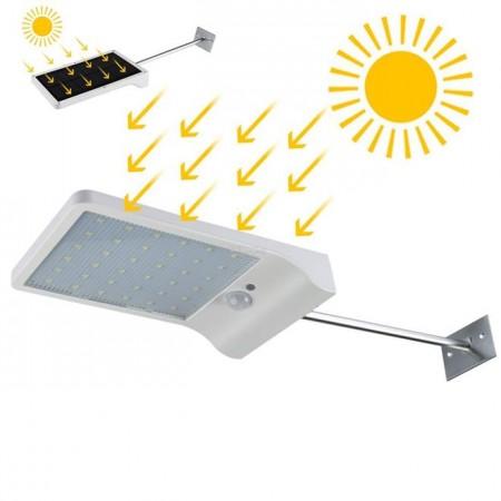 Lampe énergie solaire à Capteur de mouvement