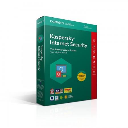 Kaspersky Lab Internet Security 2018 1utilisateur(s) 1année(s)