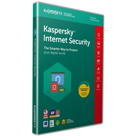 Kaspersky Lab Internet Security 2018 3PC 1an