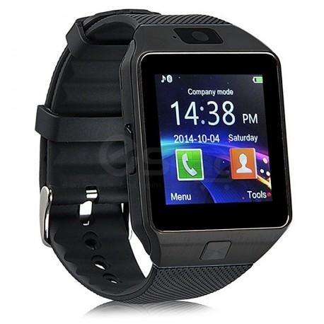 Montre de Luxe Mixte Homme Femme Bluetooth Intelligente Montre SIM GSM Carte Caméra