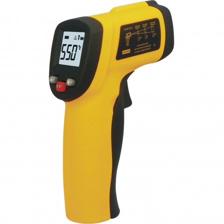 Thermomètre Infrarouge Numérique Laser Sans Contact Pistolet Température