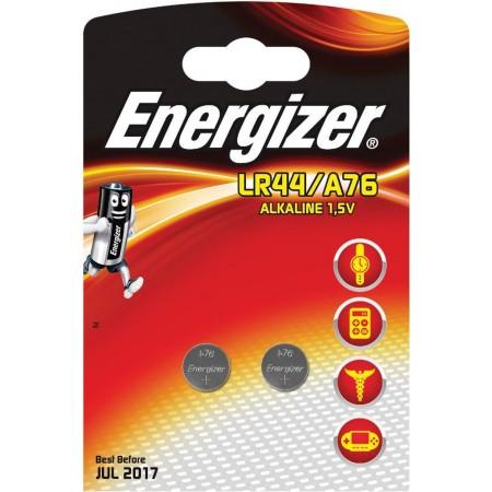 2 piles bouton Energizer LR44/A76 2