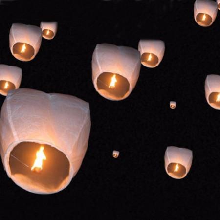 Lanternes Volantes Chinoises
