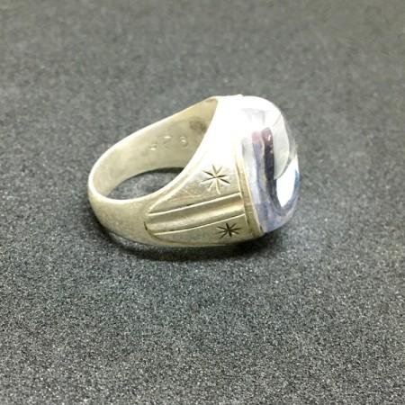 Bijoux - Bague Argent cristal
